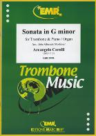 SONATA in G minor (treble/bass clef)