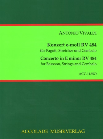 CONCERTO in E minor RV484, PV137, FVIII/6 (set of parts)