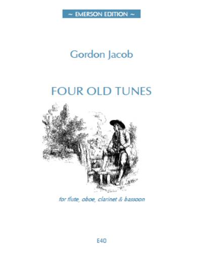 FOUR OLD TUNES (score & parts)