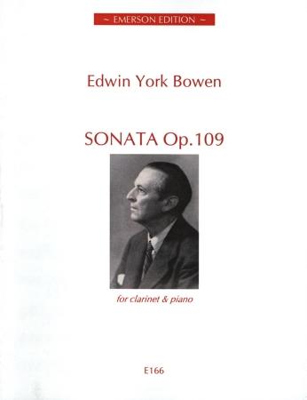 CLARINET SONATA Op.109