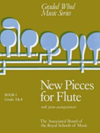 NEW PIECES FOR FLUTE Book 1 Gr. 3-4