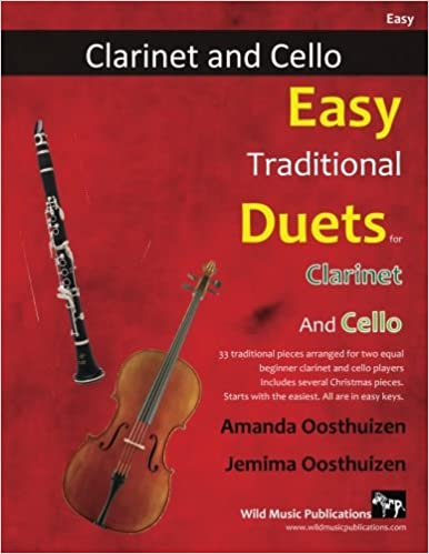 EASY TRADITIONAL DUETS for Clarinet & Cello