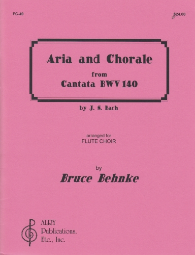 ARIA & CHORALE from Cantata BWV 140