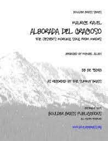 ALBORADA DEL GRACIOSO (score & parts)