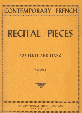 CONTEMPORARY FRENCH RECITAL PIECES Volume 2