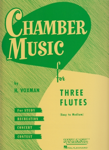 CHAMBER MUSIC FOR THREE FLUTES (playing score)