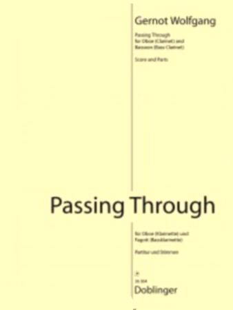 PASSING THROUGH (score & parts)