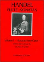 FLUTE SONATAS Volume 1 (Op.1) Urtext