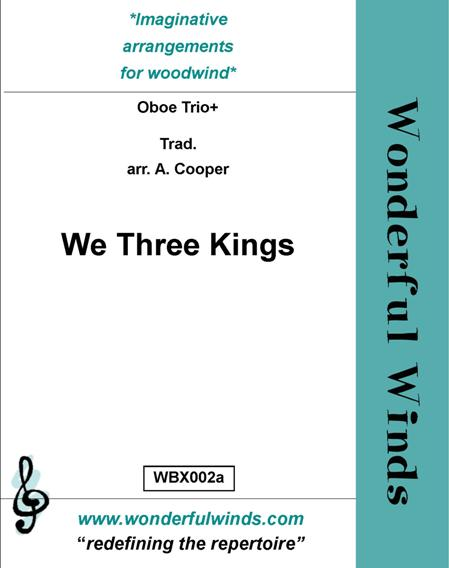 WE THREE KINGS (score & parts)