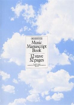 MANUSCRIPT PAPER 12-Stave, 32 Pages (A4 stitched)