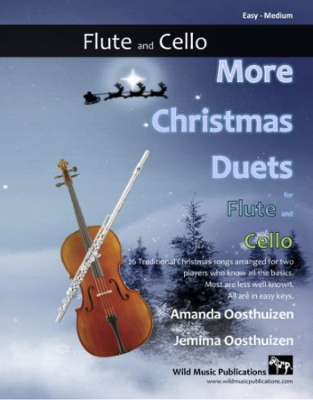 MORE CHRISTMAS DUETS for Flute & Cello