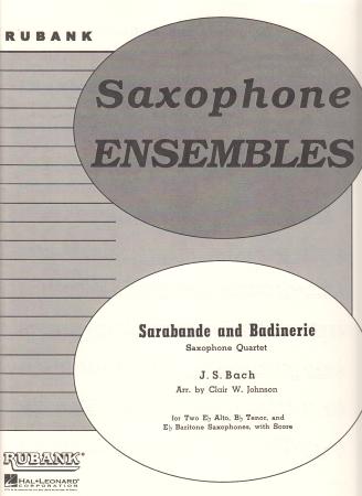 SARABANDE AND BADINERIE (score & parts)