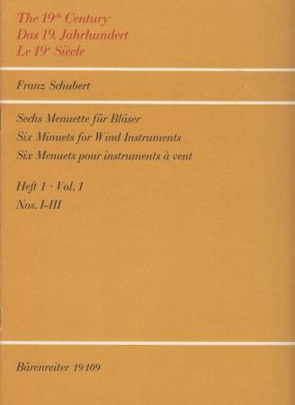 SIX MINUETS Volume 1 score