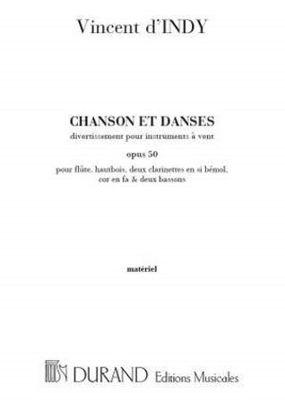 CHANSONS ET DANSES Op.50 set of parts