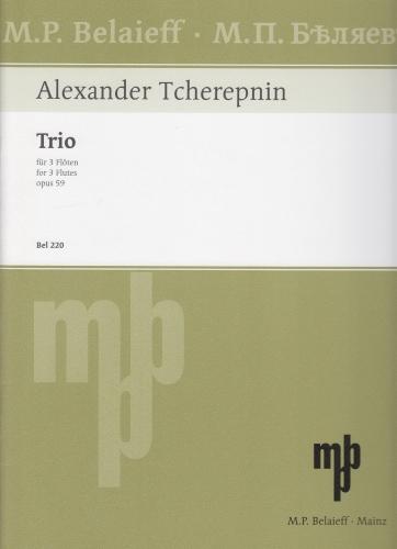 TRIO Op.59 score & parts