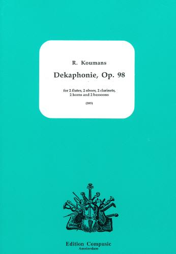 DEKAPHONIE Op.98 (score & parts)
