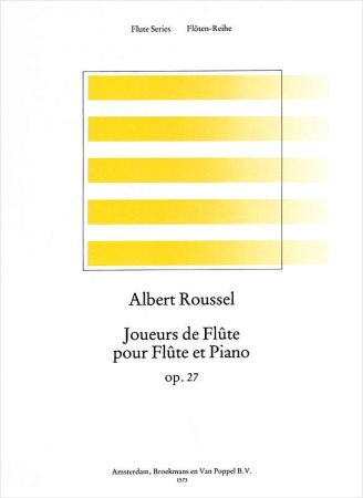 JOUEURS DE FLUTE Op.27