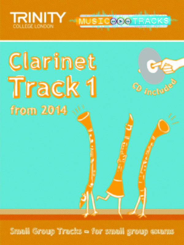 SMALL GROUP TRACKS Clarinet: Track 1 + CD
