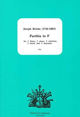 PARTHIA in F major (score & parts)