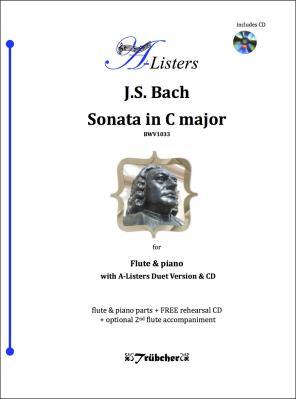 SONATA in C Major (BWV1033) + CD