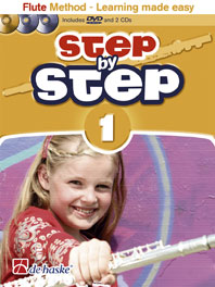 STEP BY STEP Book 1 + DVD/2CDs
