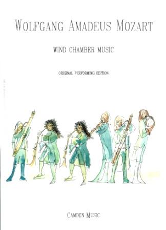 SERENADE No.12 in c minor K388 score & parts