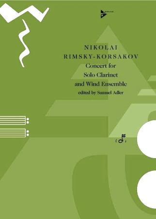 CONCERTO for Clarinet & Wind Ensemble (score & parts)