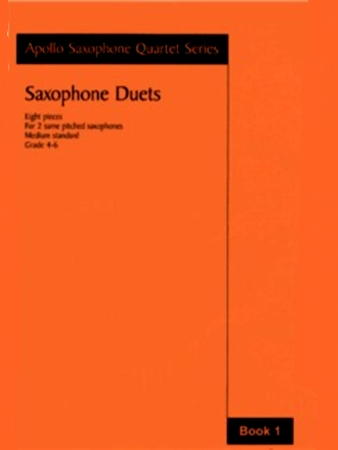 SAXOPHONE DUETS Book 1