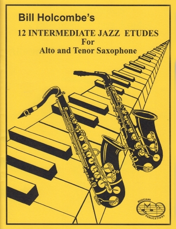 12 INTERMEDIATE JAZZ ETUDES