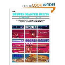 BELWIN MASTER DUETS Volume 1 Easy