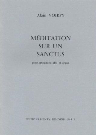 MEDITATION SUR UN SANCTUS