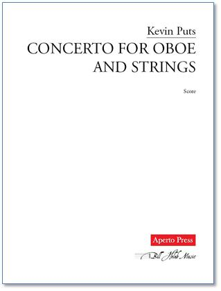 CONCERTO for Oboe & String Quintet score and parts