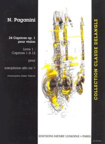 24 CAPRICES Op.1 Volume 1