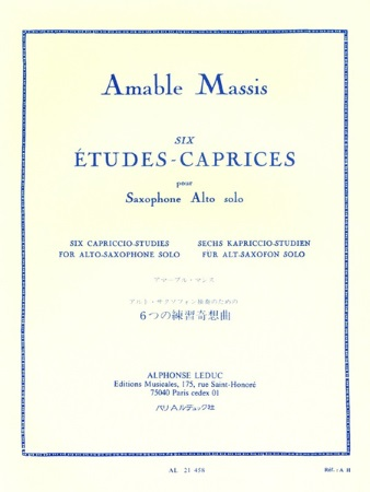 SIX ETUDES-CAPRICES