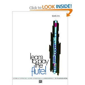 LEARN TO PLAY THE FLUTE Book 1