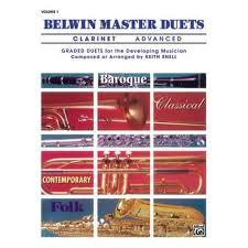 BELWIN MASTER DUETS Volume 1 Advanced