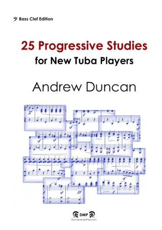 25 PROGRESSIVE STUDIES (bass clef)