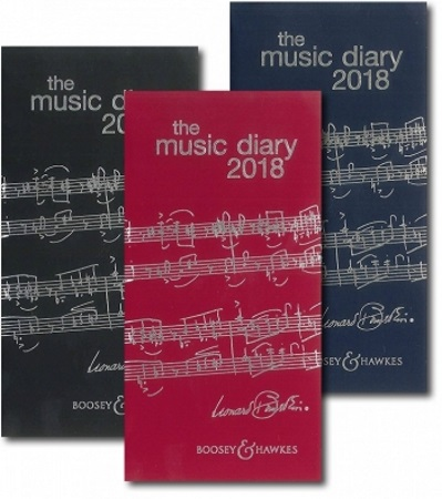 BOOSEY & HAWKES MUSIC DIARY 2018 (Navy)