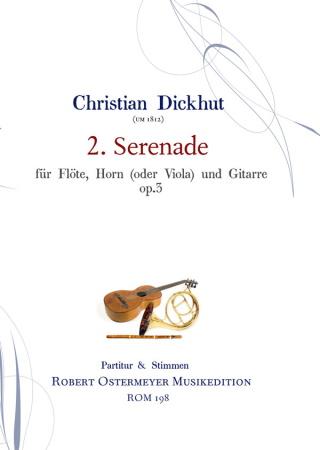 SERENADE No.2 Op.3