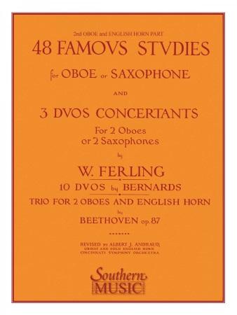 48 FAMOUS STUDIES Oboe 2 & Cor Anglais
