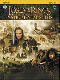 LORD OF THE RINGS TRILOGY Instrumental Solos + CD