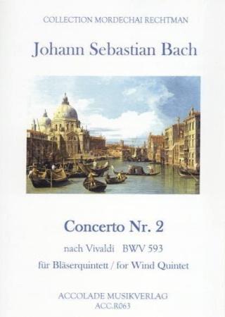 CONCERTO No.2 BWV 593 (score & parts)