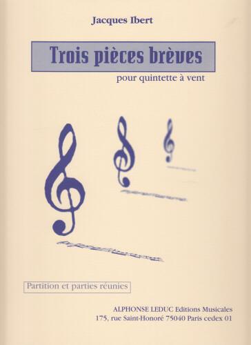 TROIS PIECES BREVES (score & parts)