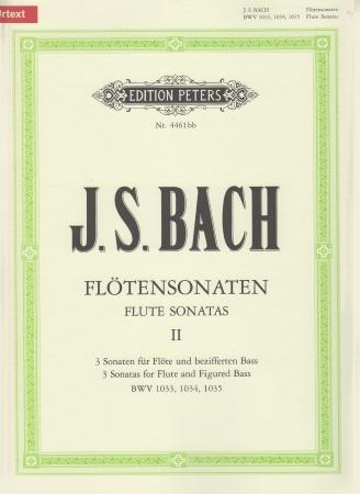 SIX SONATAS Volume 2 BWV 1033-1035 (Urtext)
