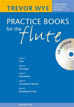 PRACTICE BOOKS FOR THE FLUTE Omnibus Edition Books 1-6 + CD