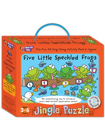 JINGLE PUZZLE Five Little Speckled Frogs