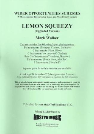 LEMON SQUEEZY + CD Wider Opps Set