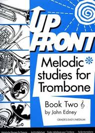 UP FRONT MELODIC STUDIES Book 2 treble clef