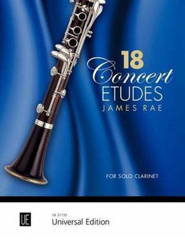 18 CONCERT ETUDES for Clarinet