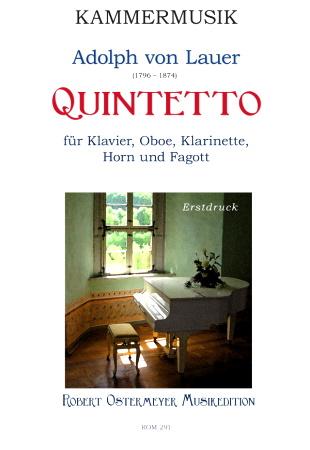 QUINTETTO score & parts
